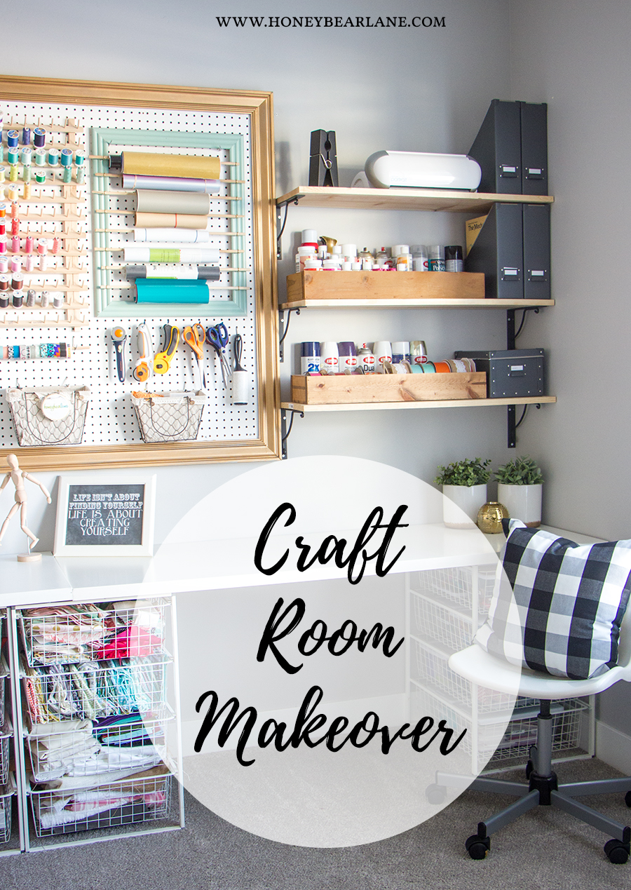 Craft Room Makeover Honeybear Lane