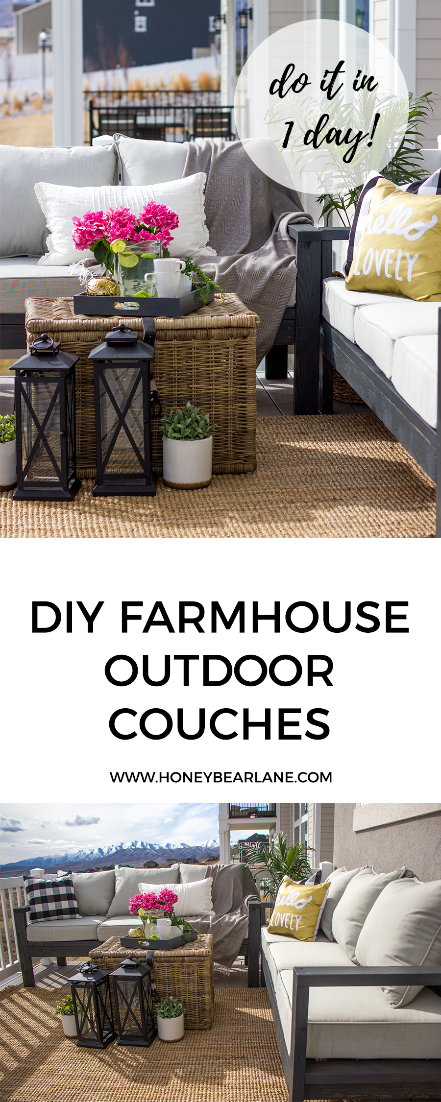 diy outdoor furniture couch build your own building this diy outdoor furniture was actually really easy and fast put the couches together in one afternoon stained them another afternoon outdoor furniture honeybear lane