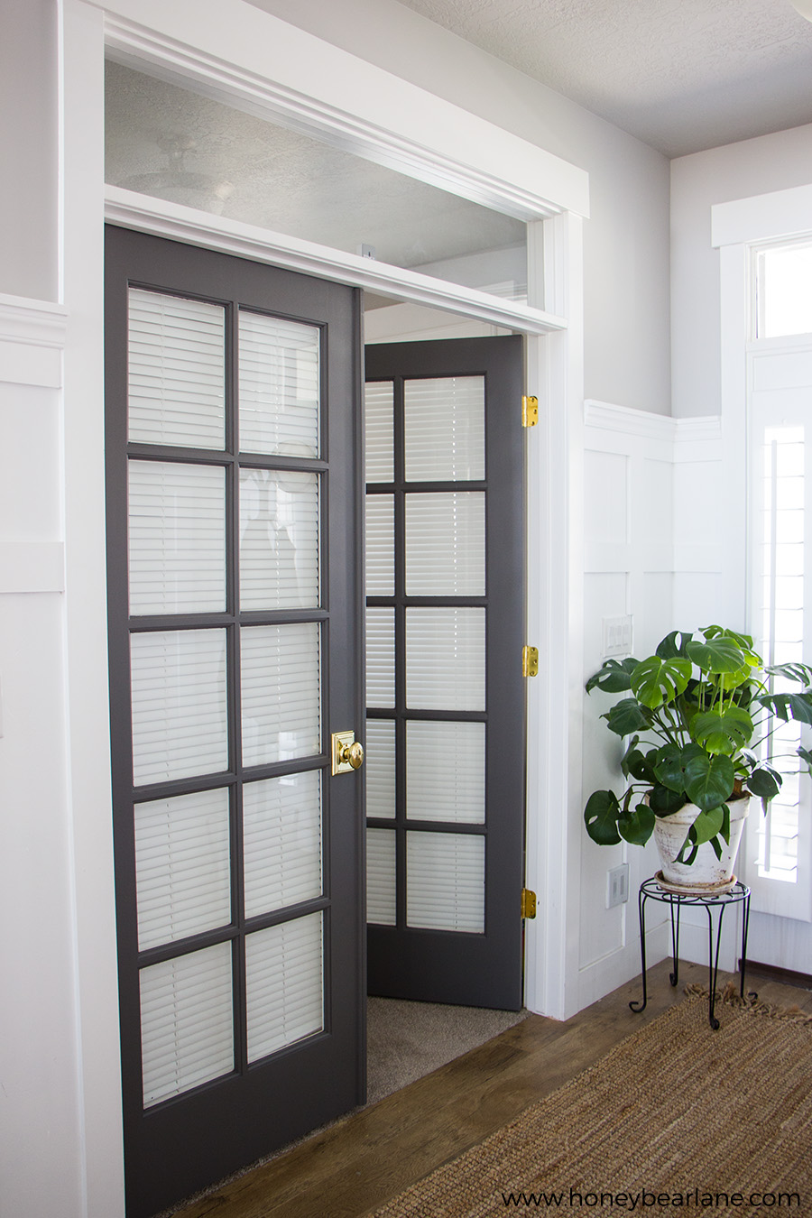 French Doors Makeover Honeybear Lane