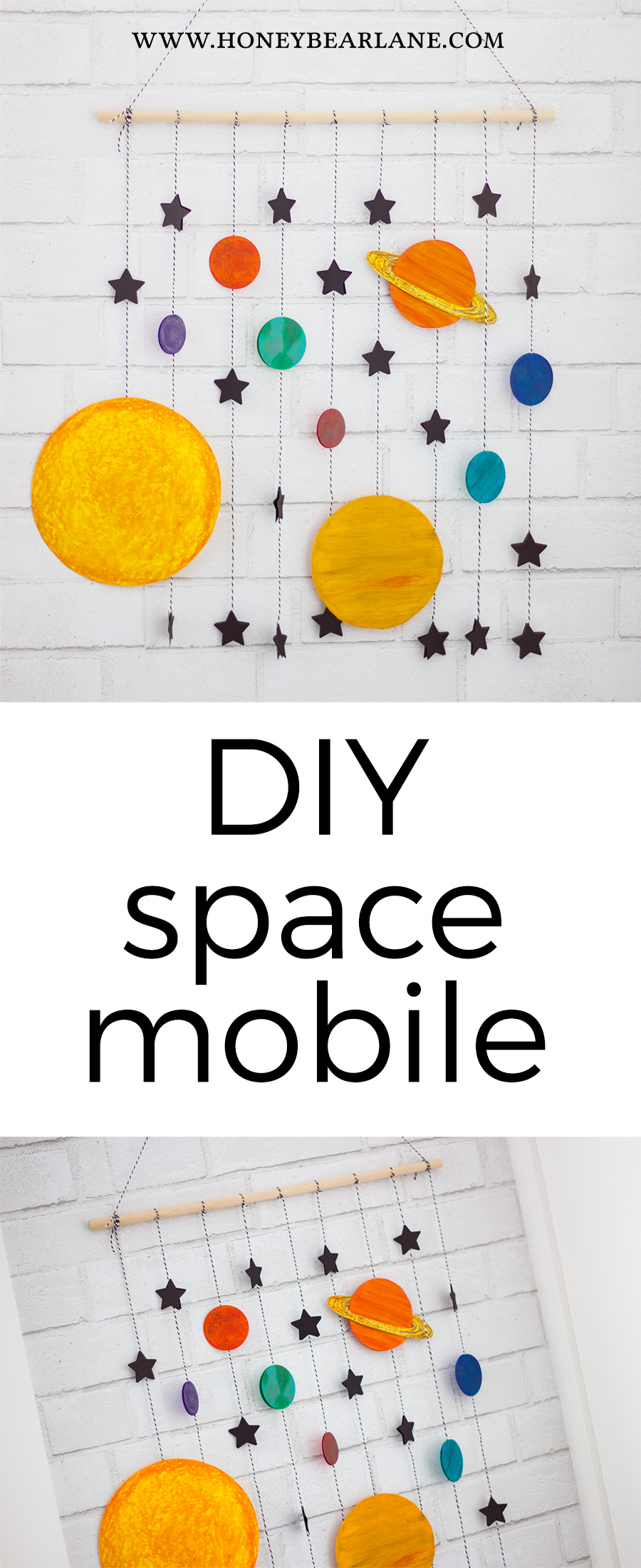 diy space mobile craft
