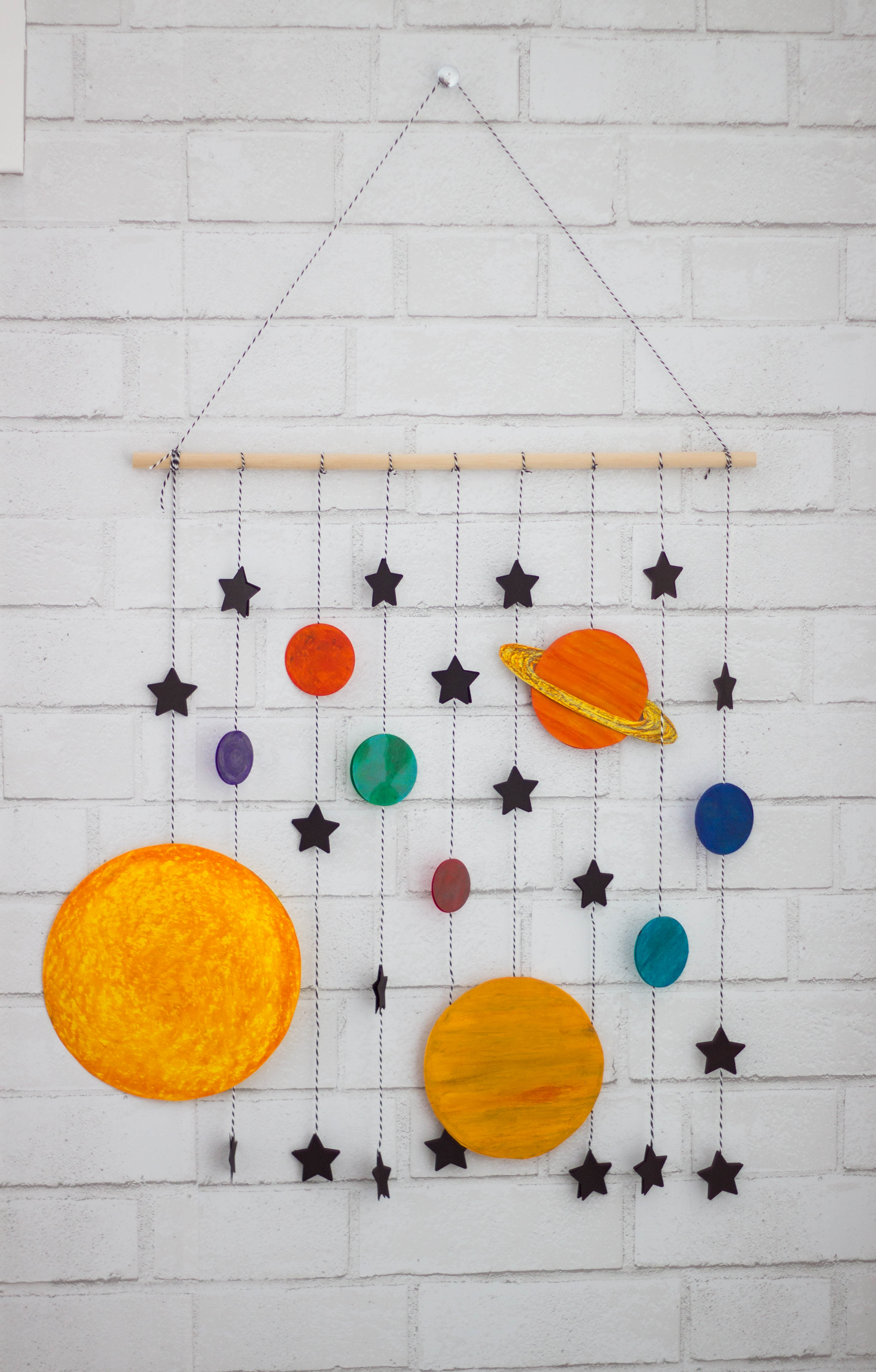 ... mobile and thanks to ASTROBRIGHTS® Papers, I was able to make this fun little wall hanging space mobile craft! It was a pretty fast craft and I love how ...