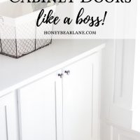 How to Build Cabinet Doors Like a Boss