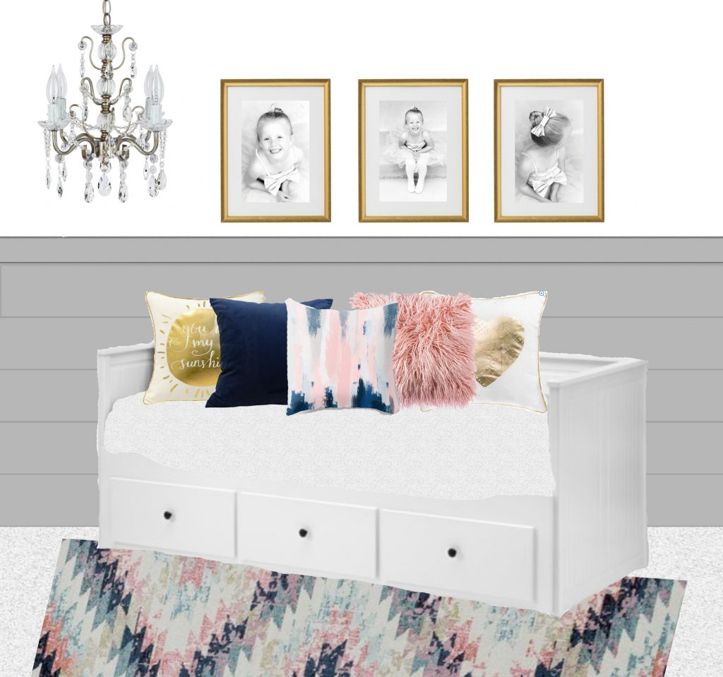 Guest Room Decorating Ideas With Mirrots Set