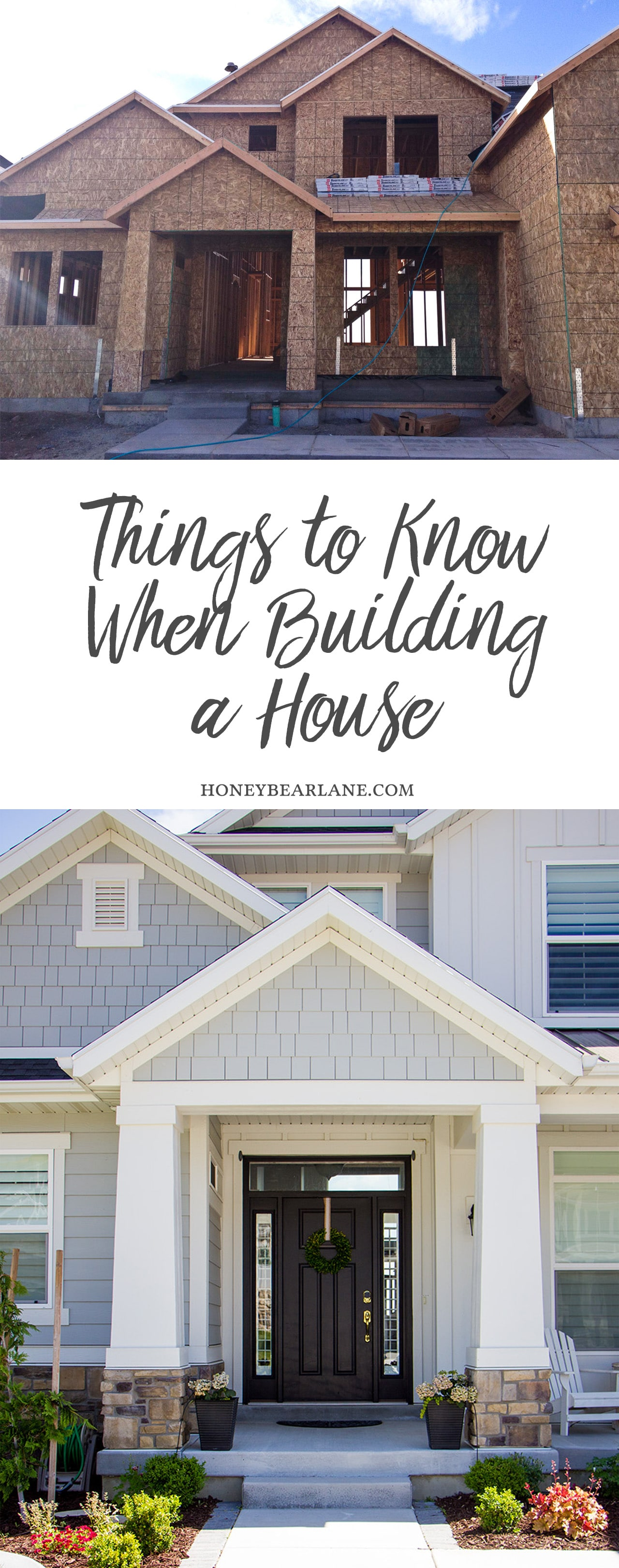 what to know when building a house home design
