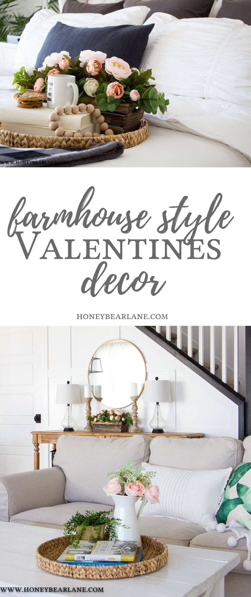My Home Decor Guide: Farmhouse Style Valentines Decor