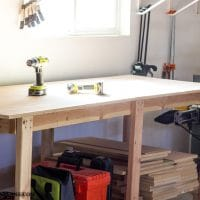 Two Hour DIY Workbench (Free Plans!)