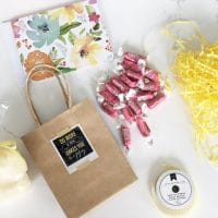 Easy Bag of Sunshine Gift