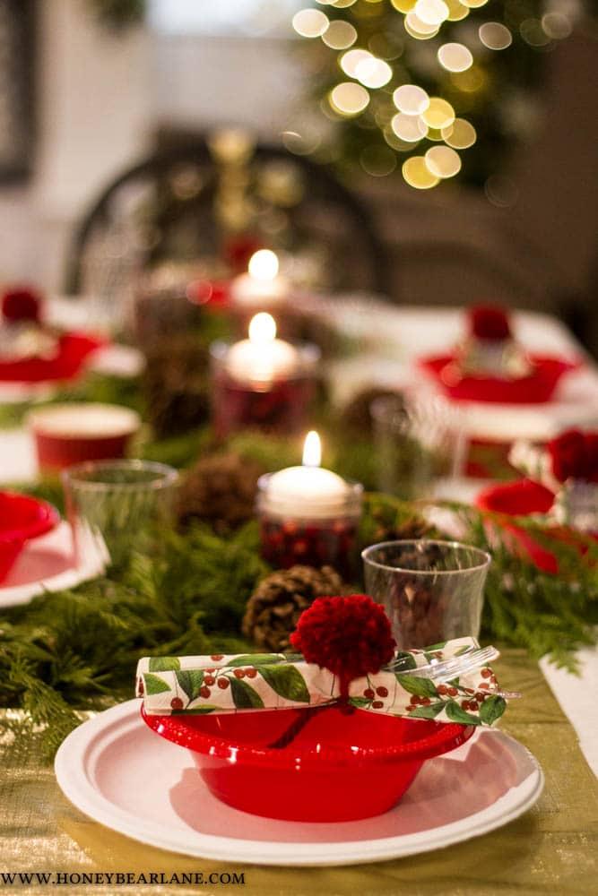 christmas progressive dinner